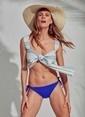 Morhipo Beach Bağlamalı Bluz Mavi